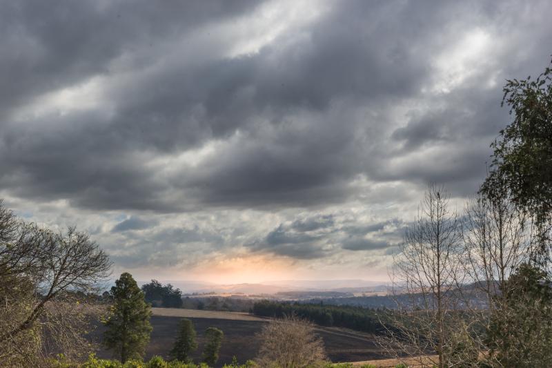 Overcast Midlands sky